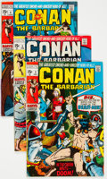 Bronze Age (1970-1979):Adventure, Conan the Barbarian Group of 9 (Marvel, 1970-72) Condition: Average VF/NM.... (Total: 9 )
