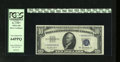 Small Size:Silver Certificates, Fr. 1707* $10 1953A Silver Certificate Star. PCGS Very Choice New 64PPQ.. This issue would make Gem if centered just a bit m...