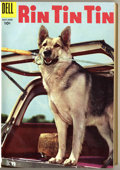 Silver Age (1956-1969):Adventure, Rin Tin Tin #4-12 Bound Volume (Dell, 1956) ....