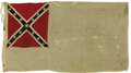 Military & Patriotic:Civil War, Captain Frederick W. Smith 2nd National Confederate - Mosby's Ranger's Flag With Archive Second National Confederate Flag, 3...