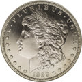 Proof Morgan Dollars: , 1899 $1 PR66 Ultra Cameo NGC. Ex: BRS Legacy Collection. The proof 1899 Morgan dollar is extr...