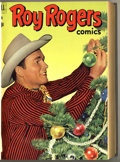 Golden Age (1938-1955):Western, Roy Rogers Comics #49-60 Bound Volume (Dell, 1952)....