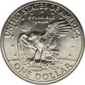 Eisenhower Dollars: , 1972-S $1 Silver MS69 PCGS. A satiny and spectacularly clean representative with an exemplary...