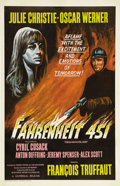 "Movie Posters:Science Fiction, Fahrenheit 451 (Universal, 1967). One Sheet (27"" X 41""). This is avery rare alternate style U.S. release one sheet on this ..."