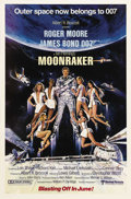 "Movie Posters:James Bond, Moonraker (United Artists, 1979). One Sheets (6) (27"" X 41""). JamesBond blasts off into outer space for this action epic th... (Total:6 Items)"
