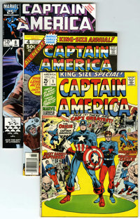 Captain America Annual #1-13 Group (Marvel, 1971-94) Condition: Average NM-.... (Total: 14)