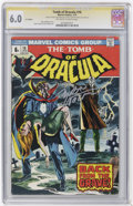 Bronze Age (1970-1979):Horror, Tomb of Dracula #16 and 18 CGC Signature Series Group (Marvel,1974).... (Total: 2)