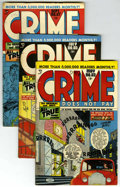 Golden Age (1938-1955):Crime, Crime Does Not Pay Group (Lev Gleason, 1948-49).... (Total: 7)