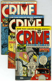 Crime Does Not Pay Group (Lev Gleason, 1948-49).... (Total: 7)