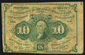 Fractional Currency:First Issue, Fr. 1242 10¢ First Issue Fine.. ...