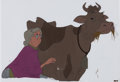 Animation Art:Production Cel, The Fox and the Hound Widow Tweed and Abigail Production Cel(Walt Disney, 1981).... (Total: 2 ...