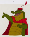 Animation Art:Production Cel, Robin Hood Captain Crocodile Production Cel (Walt Disney, 1973)....