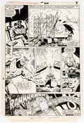 Original Comic Art:Panel Pages, Ed Hannigan and Jim Mooney Spectacular Spider-Man #66 StoryPage 7 Original Art (Marvel, 1982)....