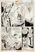 Original Comic Art:Panel Pages, Dick Dillin and Tex Blaisdell World's Finest Comics #225Story Page 16 Original Art (DC Comics, 1974)....