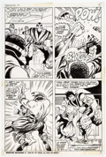 Original Comic Art:Panel Pages, George Tuska and Billy Graham Hero for Hire #10 Story Page 5 Original Art (Marvel, 1973)....