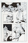 Original Comic Art:Panel Pages, Dave Gibbons Super Soldier #1 Story Page 10 Original Art(DC/ Marvel Comics, 1996)...