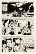 Original Comic Art:Panel Pages, Mike Sekowsky and Dick Giordano Wonder Woman #187 Story Page 17 Original Art (DC, 1970)....