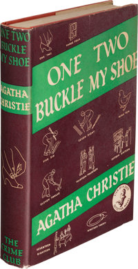 Agatha Christie. One, Two, Buckle My Shoe. London: The Crime Club by Collins, 1940. First editi