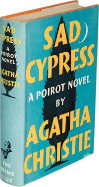 Agatha Christie. Sad Cypress. London: 1940. First edition