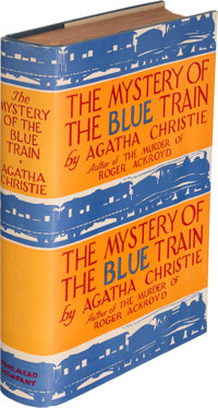 Agatha Christie. The Mystery of the Blue Train. New York: Dodd, Mead and Company, 1928. First A
