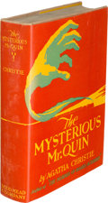 Books:Mystery & Detective Fiction, Agatha Christie. The Mysterious Mr. Quin. New York: Dodd, Mead & Company, 1930. First U. S. edition....
