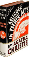 Books:Mystery & Detective Fiction, Agatha Christie. Murder in Three Acts.