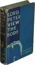 Books:Mystery & Detective Fiction, Dorothy L. Sayers. Lord Peter Views the Body. New York: Payson & Clarke Ltd, [1929?]. First U. S. edition....