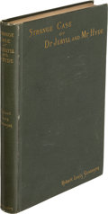 Books:Mystery & Detective Fiction, Robert Louis Stevenson. Strange Case of Dr Jekyll and Mr Hyde. New York: Charles Scribner's Sons, 1886. First editio...