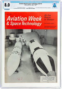 Magazines: Aviation Week & Space Technology Dated May 1, 1967, Directly From The Armstrong Family Collection™, C...