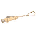 Estate Jewelry:Other, Diamond, Gold Keychain . ...
