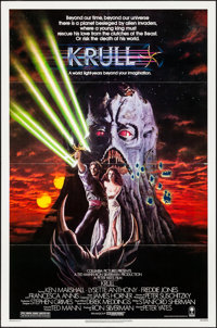 "Krull & Other Lot (Columbia, 1983). Folded, Very Fine. One Sheets (3) (27"" X 41""). Fantasy. ... (Total..."
