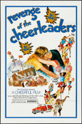 """Movie Posters:Sexploitation, Revenge of the Cheerleaders & Other Lot (Monarch, 1976).Folded, Very Fine-. One Sheets (3) (27"""" X 41""""). Sexploitation.. ...(Total: 3 Items)"""