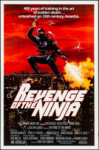 "Revenge of the Ninja & Other Lot (Cannon, 1983). Folded, Very Fine. One Sheets (3) (27"" X 41"" & 25&quo..."