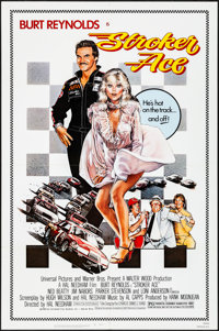 """Stroker Ace & Other Lot (Universal, 1983). Folded, Overall: Very Fine+. One Sheets (3) (27"""" X 41"""") Drew St..."""