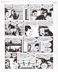 """Original Comic Art:Panel Pages, Peter Bagge Neat Stuff #9 Story Page 23 from """"Hippy House"""" Signed and Dated Original Art (Fantagraphics Books, 198..."""