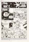 Original Comic Art:Panel Pages, Richard Howell and Murphy Anderson DC Comics Presents #95Story Page 1 Original Art (DC, 1986)....