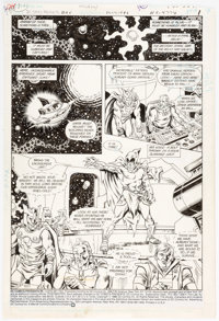 Richard Howell and Murphy Anderson DC Comics Presents #95 Story Page 1 Original Art (DC, 1986)