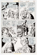 Original Comic Art:Panel Pages, John Calnan and Murphy Anderson Action Comics #413 Page 40Original Art (DC Comics, 1972)....