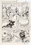 Original Comic Art:Panel Pages, Kerry Gammill and Carlos Garzon Spectacular Spider-ManAnnual #4 Story Page 15 Original Art (Marvel, 1984)....