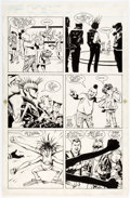 Original Comic Art:Panel Pages, Steve Rude and John Nyberg Nexus #35 Story Page 14 Original Art (First, 1986)....