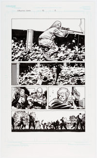 Charlie Adlard and Cliff Rathburn The Walking Dead #98 Story Page 13 Original Art (Image, 2012)