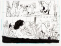 Original Comic Art:Panel Pages, Bernard Chang (attributed) Wonder Woman Half Page OriginalArt (DC Comics, c. 2010s)....