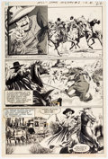 "Original Comic Art:Panel Pages, Gray Morrow All-Star Western #2 ""El Diablo"" Story Page 2 Original Art (DC Comics, 1970)...."