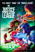 "Movie Posters:Action, Justice League (Warner Brothers, 2017). Rolled, Near Mint. IMAX Exclusive Poster (13"" X 19""). Action.. ..."