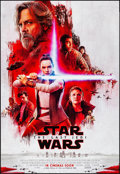 "Movie Posters:Science Fiction, Star Wars: The Last Jedi (Walt Disney Studios, 2017). Rolled, Near Mint. International One Sheet (27"" X 40"") DS Advance. Sci..."