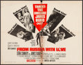 """Movie Posters:James Bond, From Russia with Love (United Artists, 1964). Folded, Good/Very Good. Half Sheet (22"""" X 28""""). James Bond.. ..."""