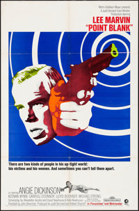 """Point Blank (MGM, 1967). Folded, Very Fine-. One Sheet (27"""" X 41""""). Crime"""