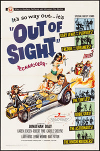 "Out of Sight (Universal, 1966). Folded, Fine-. One Sheet (27"" X 41""). Joseph Smith Artwork. Rock and Roll"