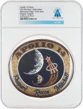 Explorers:Space Exploration, Patches: Apollo 14 Lion Brothers Hallmarked Embroidered Mission Insignia Patch Directly From The Armstrong Family Collection™,...