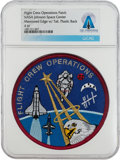 Explorers:Space Exploration, Patches: Rare Original Johnson Space Center Flight Crew Operations Patch Directly From The Armstrong Family Collection...